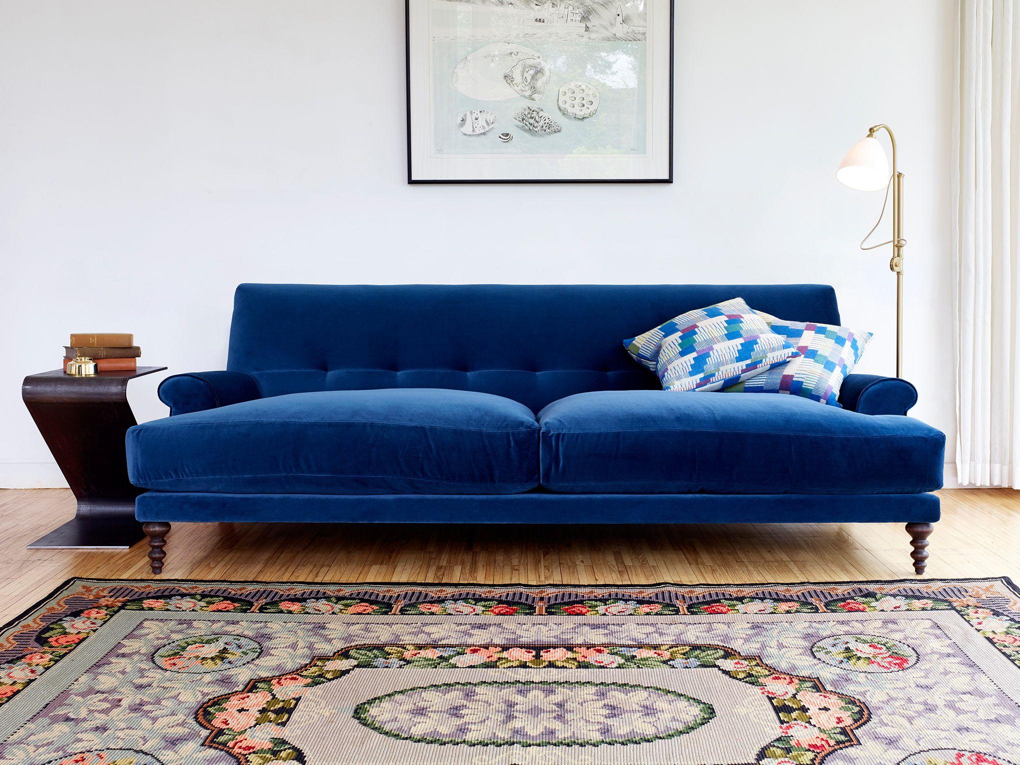 The Oscar Sofa Designed By Matthew Hilton Strikes A