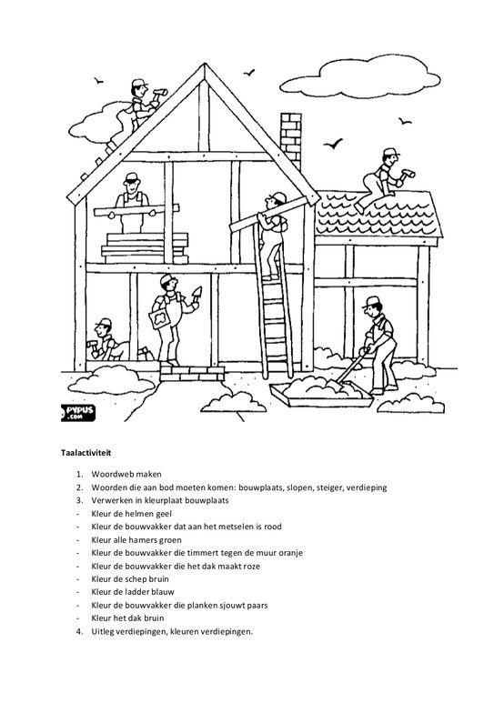 title met afbeeldingen bouw thema huizen bouwen
