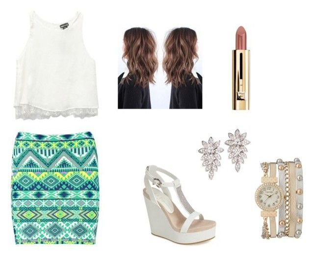 """Party"" by brooklynb39 ❤ liked on Polyvore featuring Boohoo, Wet Seal, Lola Cruz and maurices"