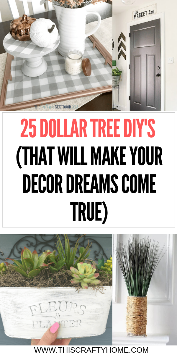 DIY Dollar Tree crafts that will make your farmhouse home decor dreams come true! These Dollar Tree DIYs are super easy! #style #shopping #styles #outfit #pretty #girl #girls #beauty #beautiful #me #cute #stylish #photooftheday #swag #dress #shoes #diy #design #fashion #homedecor