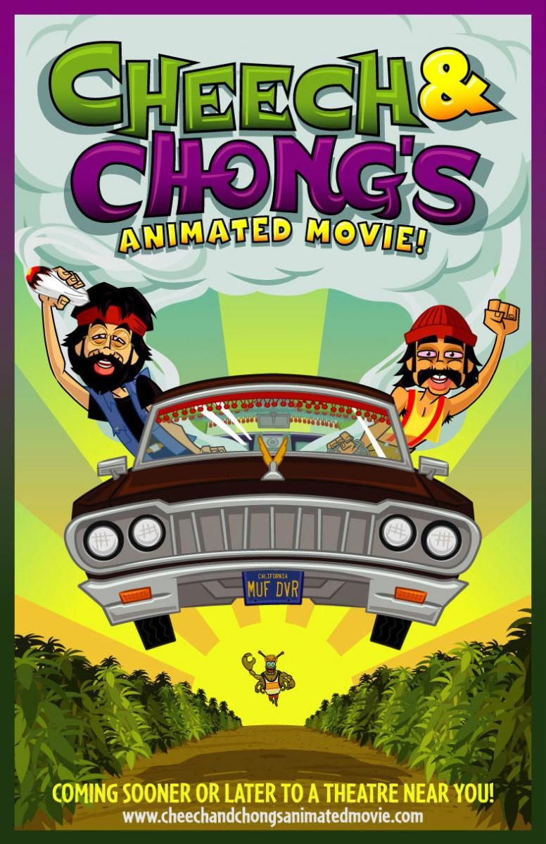 Cheech And Chong is Animated Movie DVDRIP LATINO