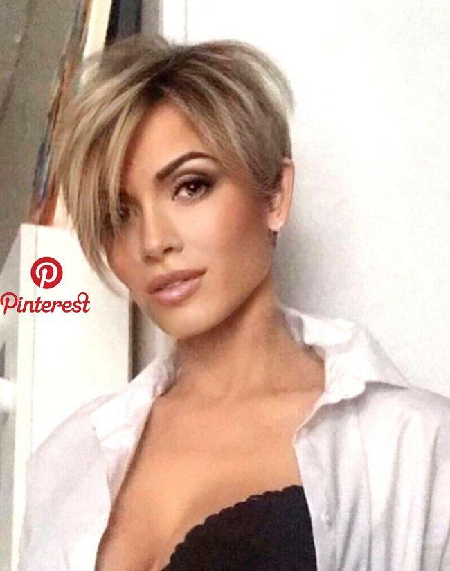 Pin By Rhonda On Hair Thin Hair Haircuts Short Hair Styles Pixie Thick Hair Styles