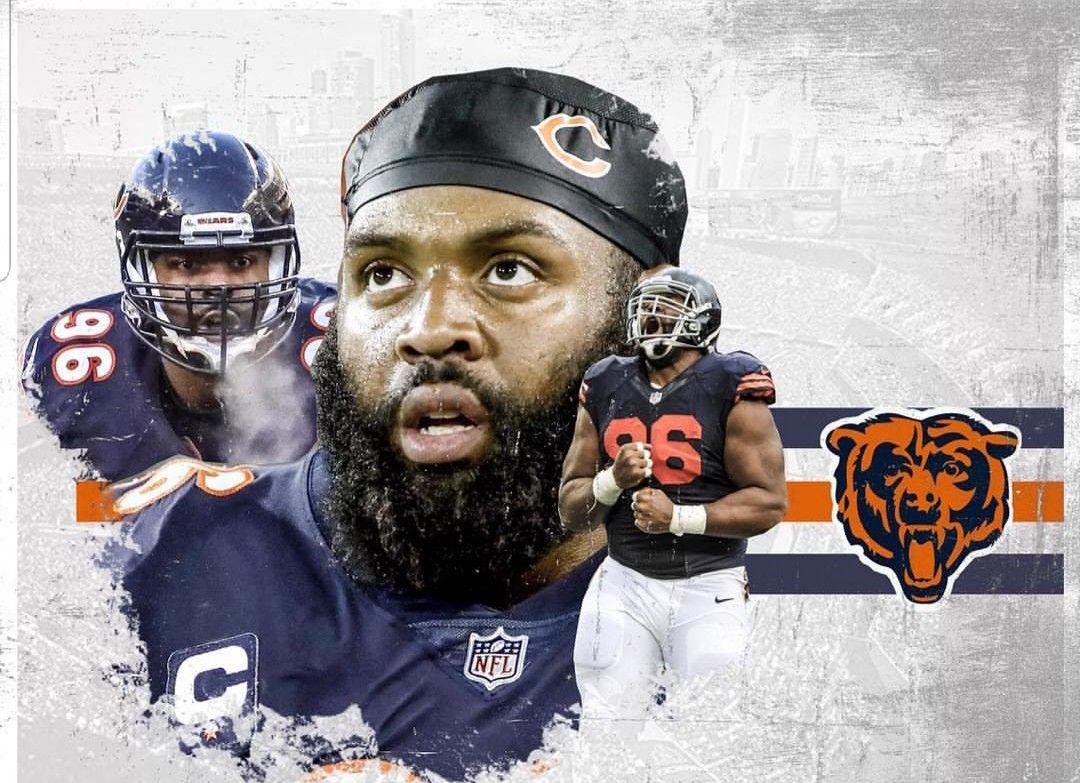 Akiem Hicks Chicago Bears Wallpaper Chicago Bears Chicago Bears Football