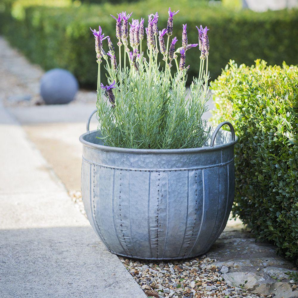 Garden Trading - Shilton Wash Tub Planters - Set of 2 | Flora etc ...