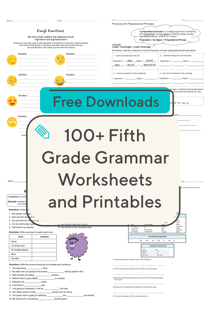 Does Your Fifth Grader Need To Brush Up On Grammar Skills This Collection Of Resources Is Here To Help Grammar Fi Grammar Worksheets Grammar Skills Grammar [ 1102 x 735 Pixel ]
