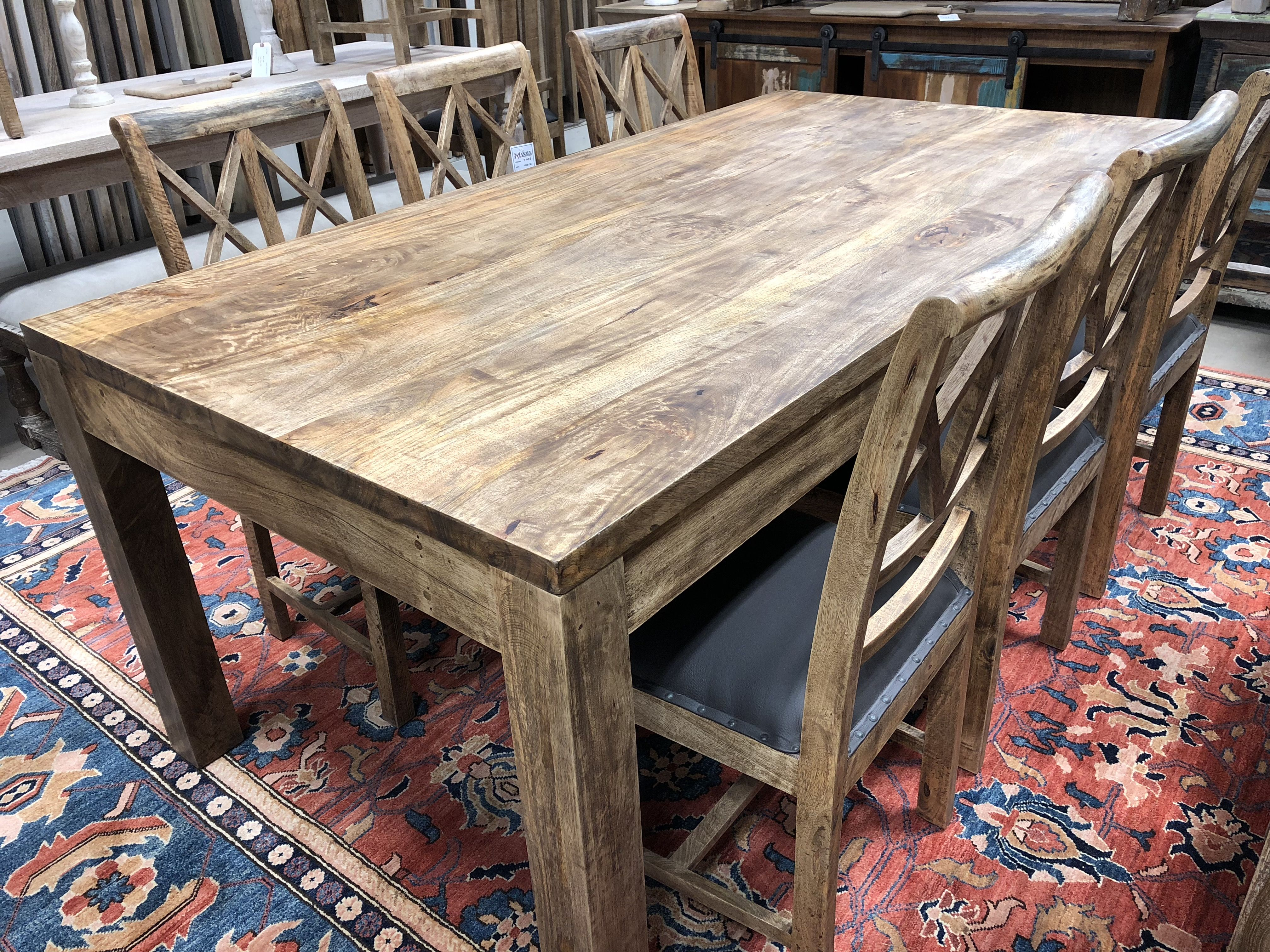Extendable Solid Wood Dining Table Dinning Table Wood Solid Wood Dining Table Table