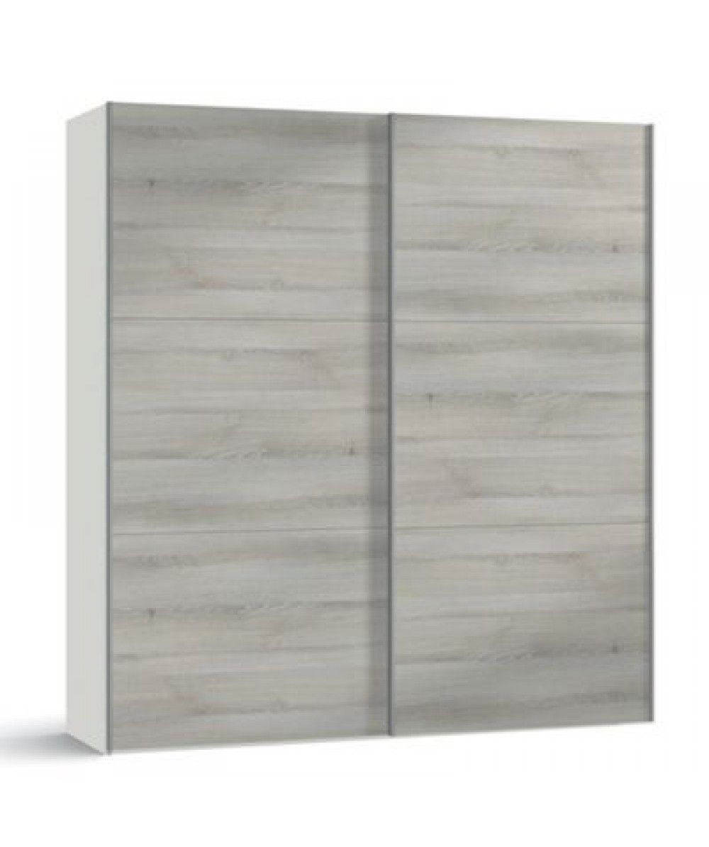 Grey Oak Jupiter 2 Door Sliding Wardrobe Comes With A  # Muebles Jupiter