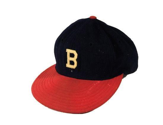 VIntage Wilson Boston Braves Game Worn Fitted Basball Cap  106df848c11