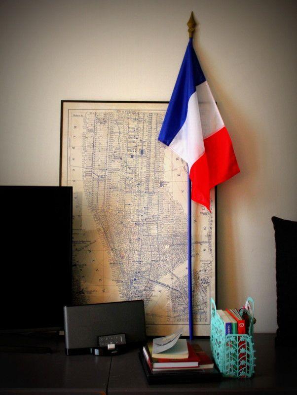 Drapeau Français en décoration intérieure !!!