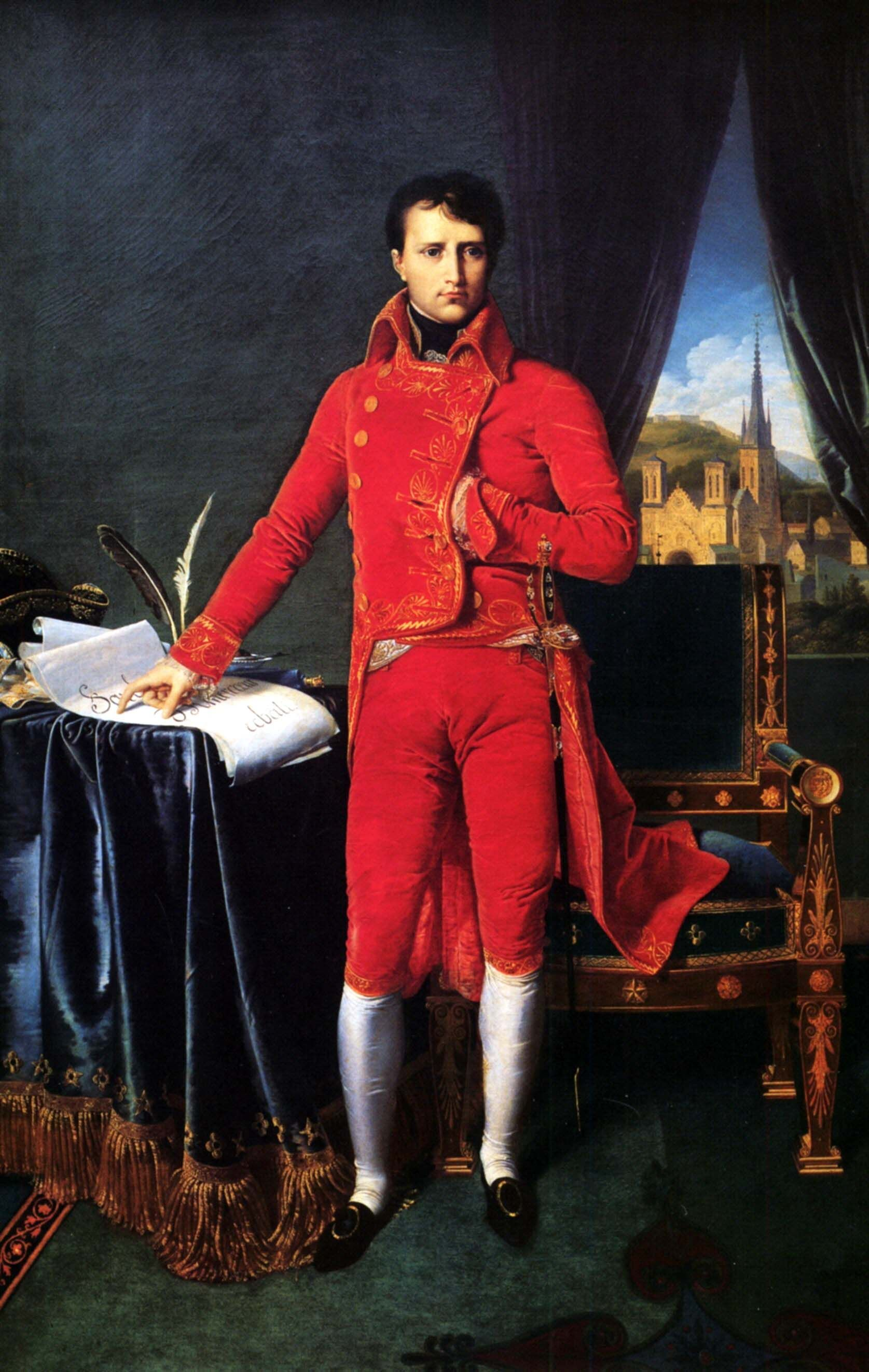 napoleon bonaparte in the uniform of the first consul 1804 by napoleon bonaparte in the uniform of the first consul 1804 by jean e