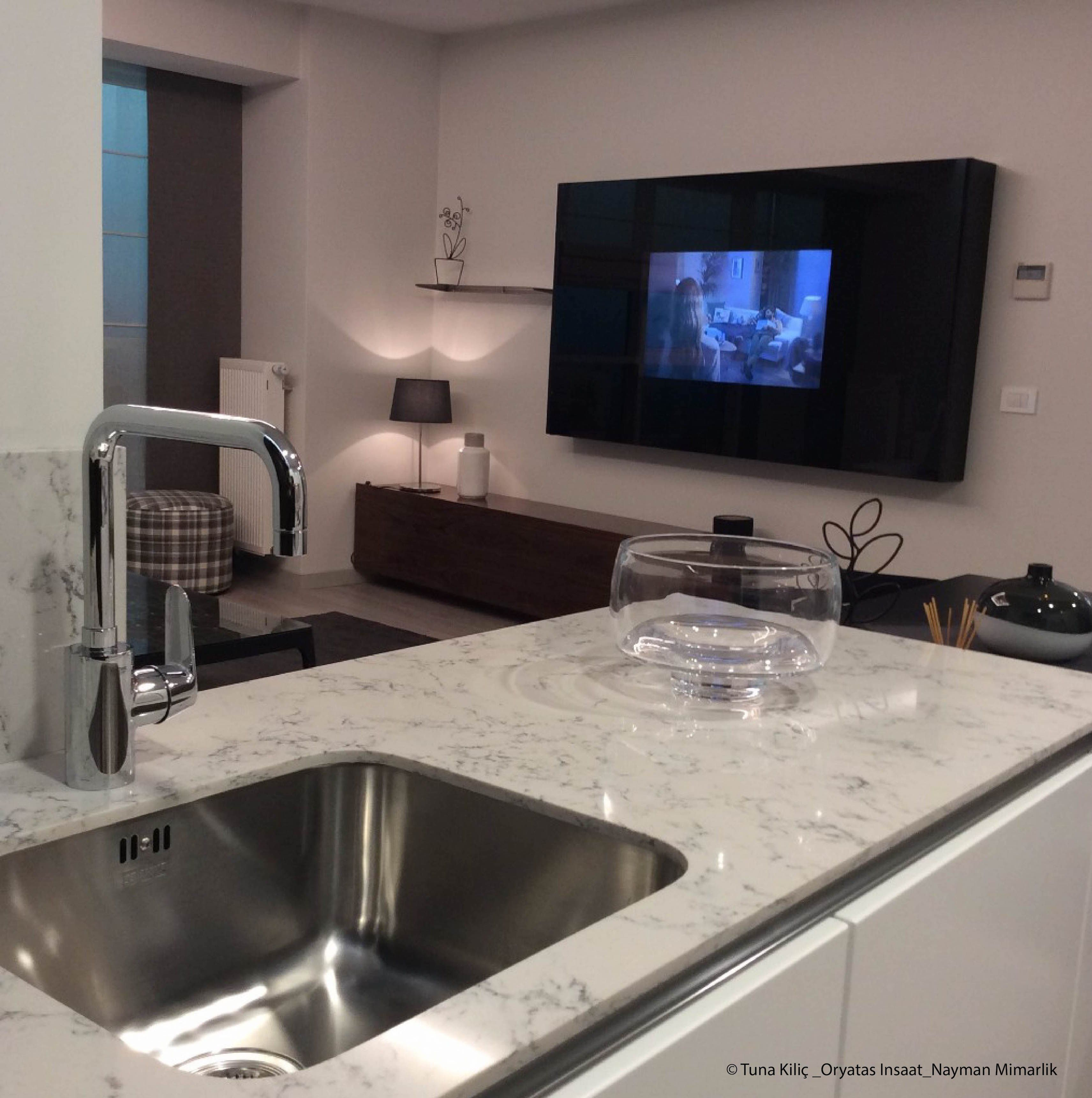 Combining Silestone Lyra countertops with white cabinets? Of course ...