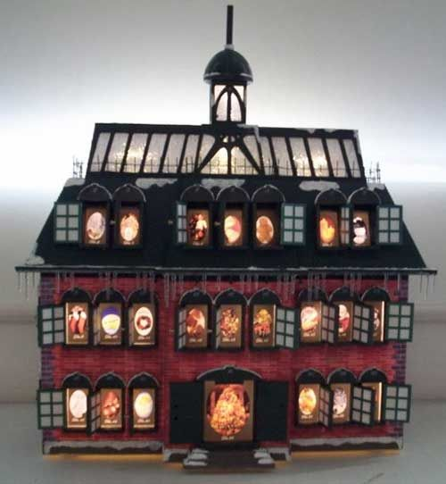Christmas Vacation Advent House/Advent Ideas for Next Year ...