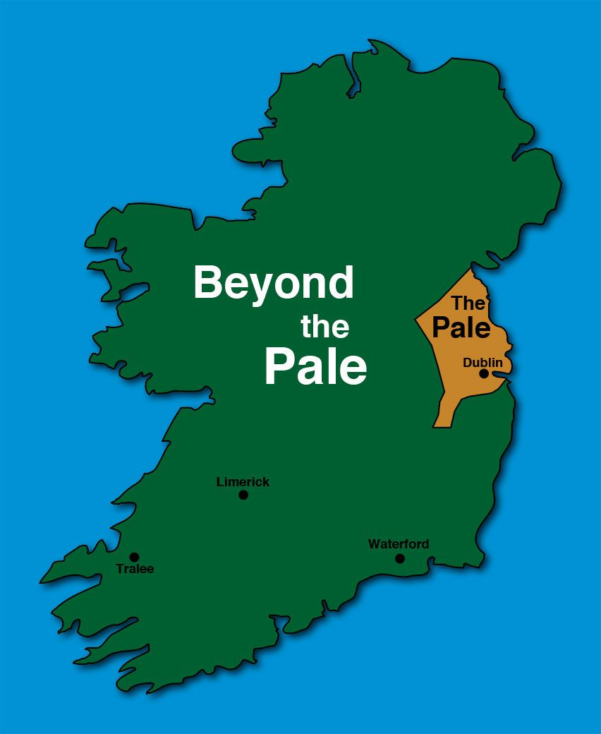 Image Result For Land Controlled By Normans In Ireland 1500 Irish