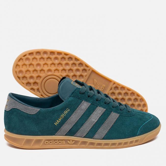 Adidas Originals Hamburg Virdia/Gum. Article: AQ4732. Release: 2015.