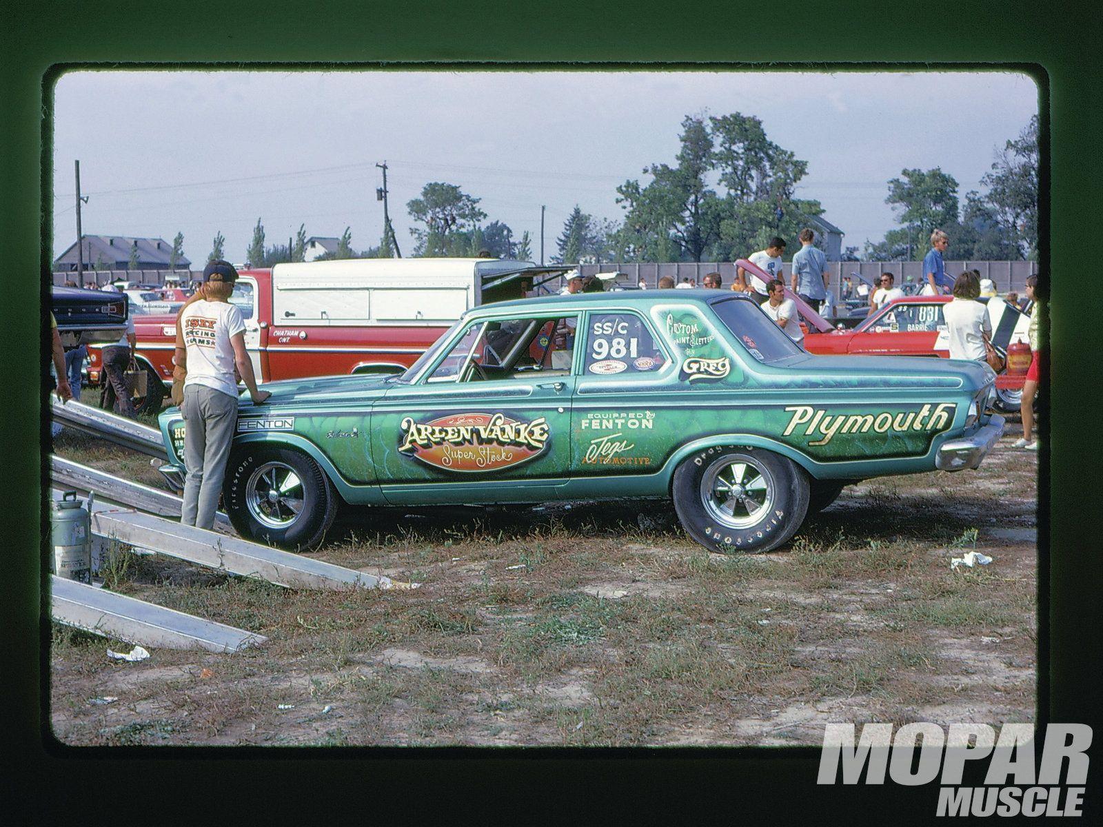 Vintage Mopar Drag Racing Photography 65 Plymouth Super Stocker ...
