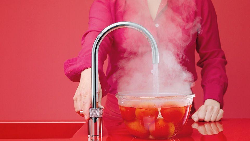 De Quooker Fusion Keukenkraan www.inspirerend-wonen.be