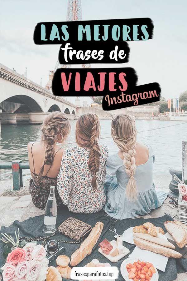 ✅MEJORES FRASES de VIAJES para Instagram, Redes Sociales y Fotos