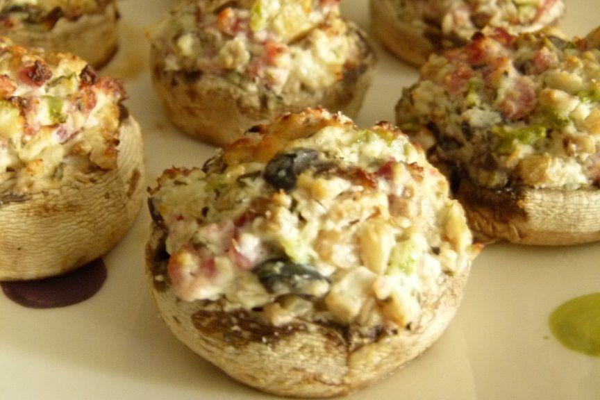 Champignons farcis | Recette champignons farcis ...