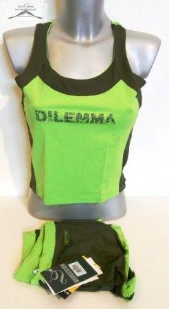 f4b3ea0ed6 5 szett Dilemma nő póló +top + rövidnadrág csomag. 3 db L-es és 2 db S-es  méretben. elasztikus anyagból.