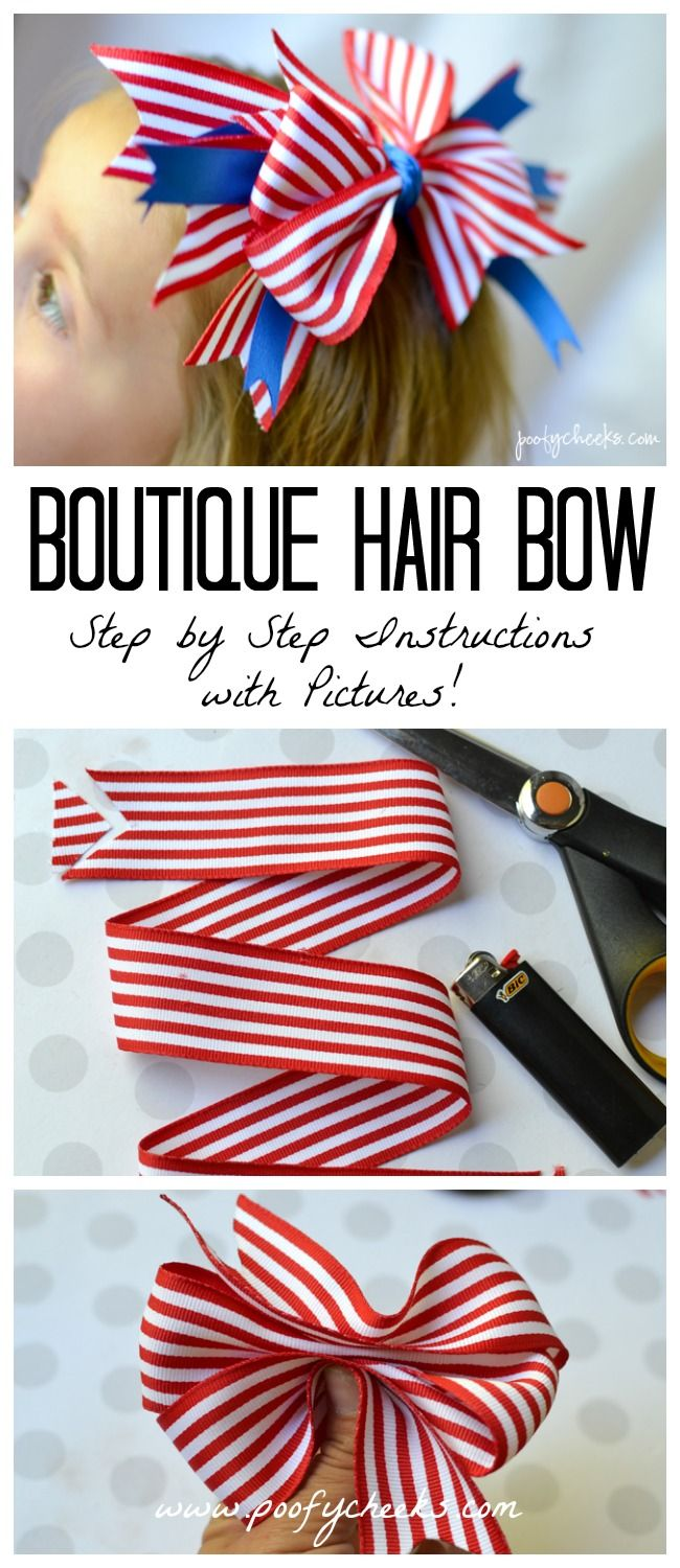 Boutique hair bow tutorial with step by step instructions and boutique hair bow tutorial with step by step instructions and pictures baditri Image collections