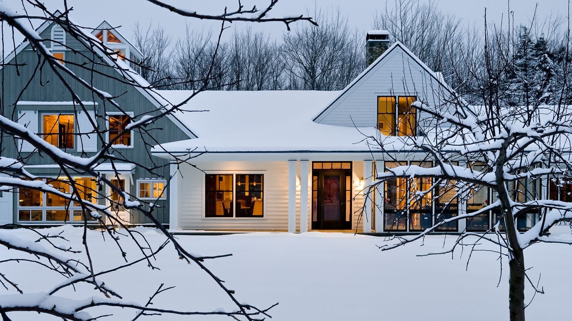 Cole Farm Residence, Scarborough, Maine | Whitten Architects ...