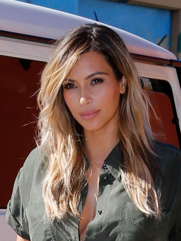 Kim Kardashians Gorgeous Blonde Hair Tan Skin How To Beauty