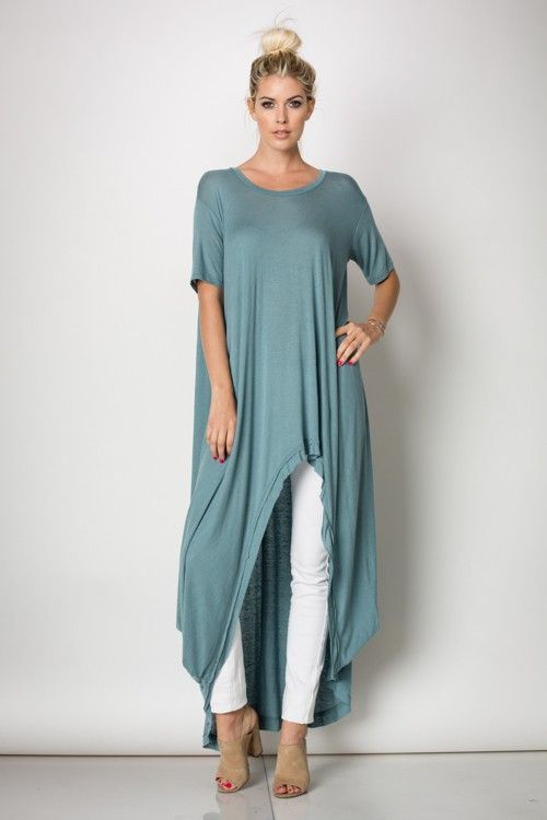 High low tunic(Tunic Top Stylists)  c2cab1bb7100