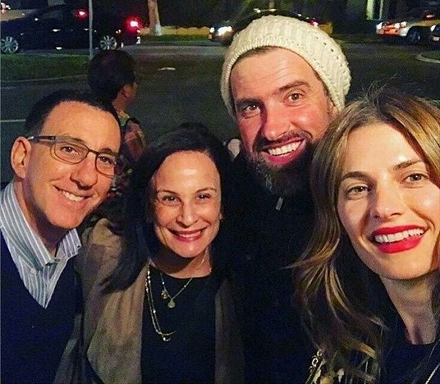 Stana Katic With Her Hubby Kris And Laurie Zaks Stana Katic