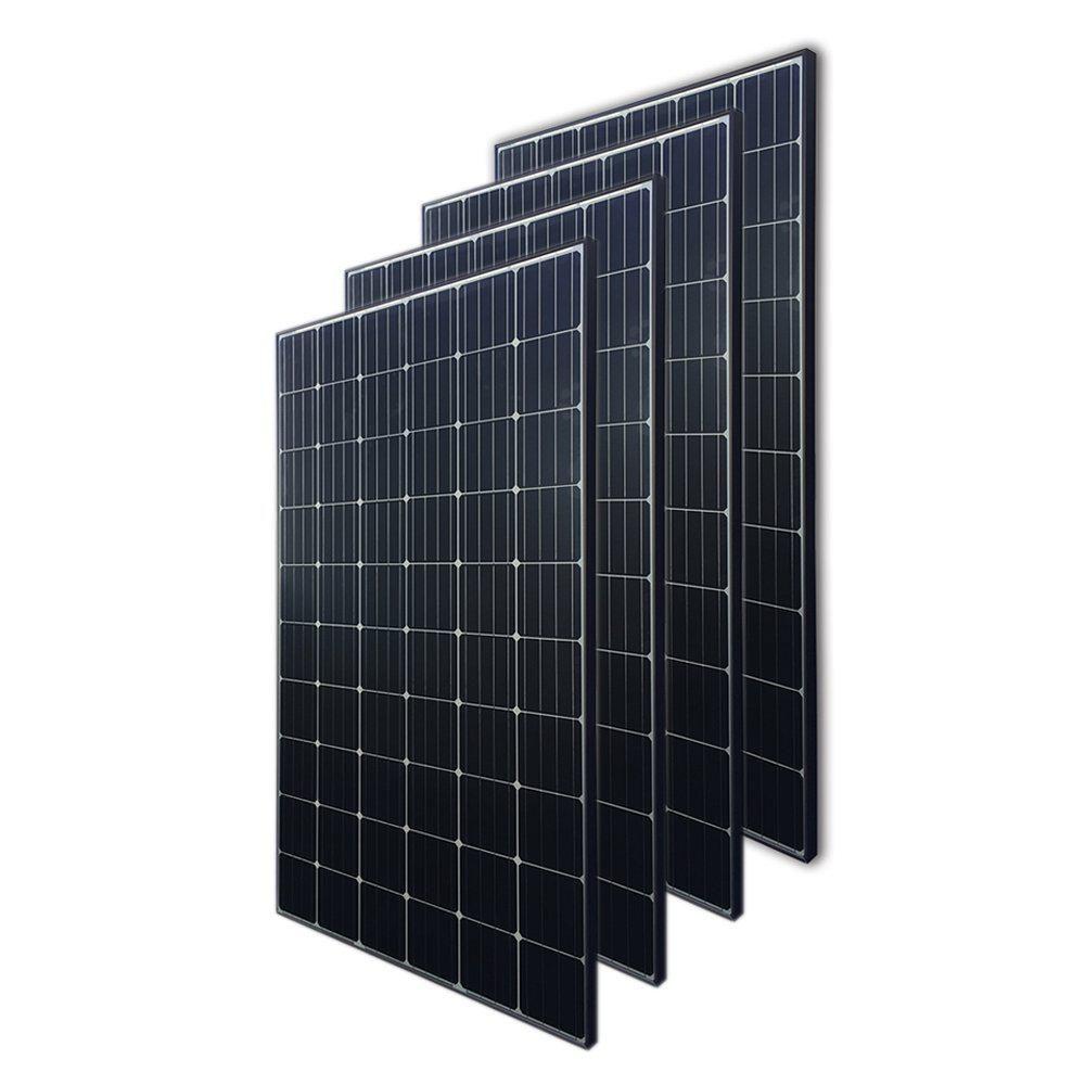 Renogy 300 Watt 24 Volt Monocrystalline Solar Panel 4 Piece Rng 300dx4 The Home Depot In 2020 Monocrystalline Solar Panels Solar Panels Advantages Of Solar Energy