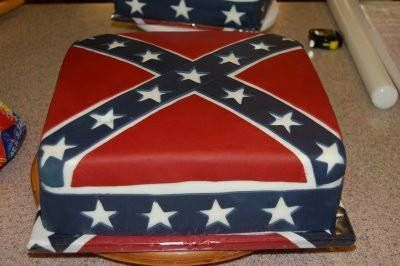 confederate flag wedding cakes rebel flag on rebel flags 12913