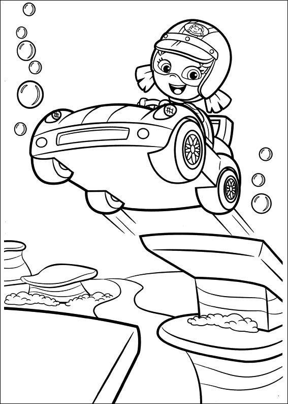 Bubble Guppies Ausmalbilder 37 | Ausmalbilder für kinder | Pinterest ...