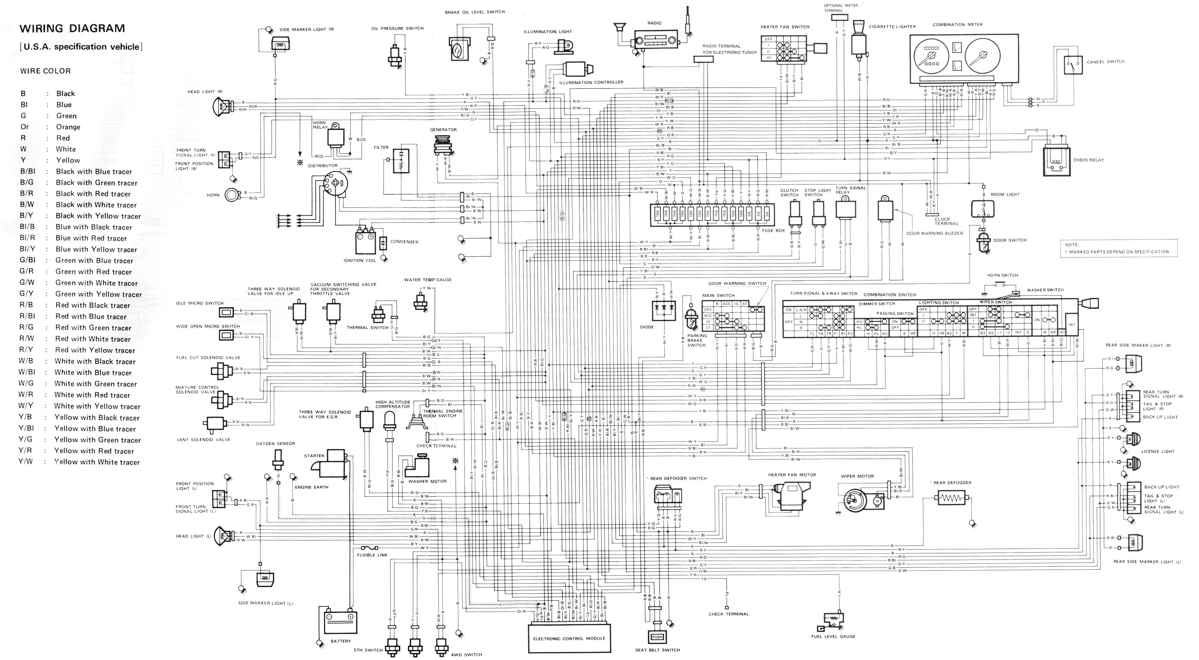 Samurai Generic Wiring Diagram With Images
