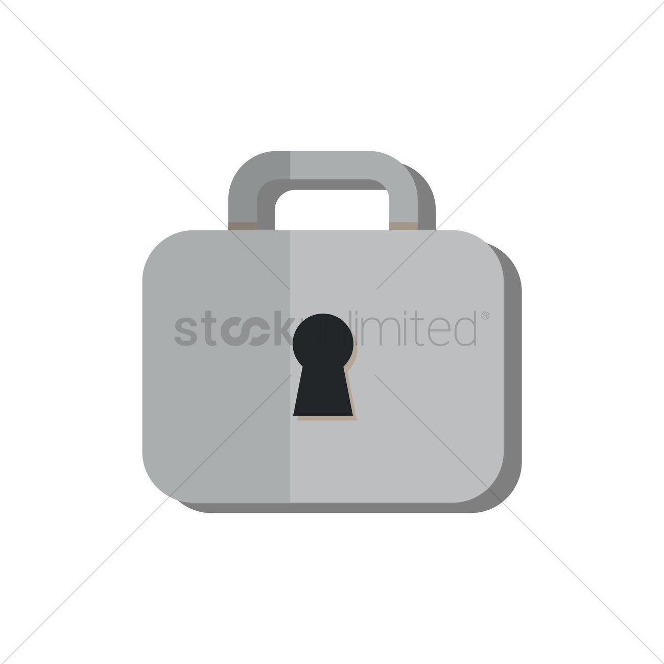 Lock stock vector