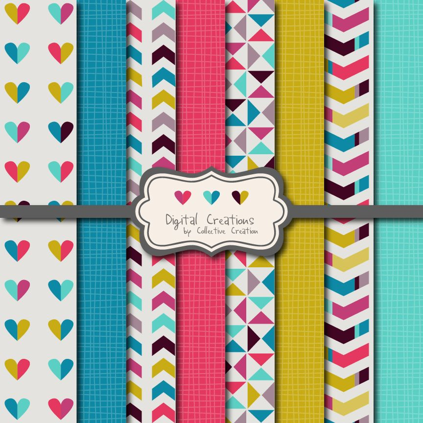 a free digital paper download from creative clip art collection