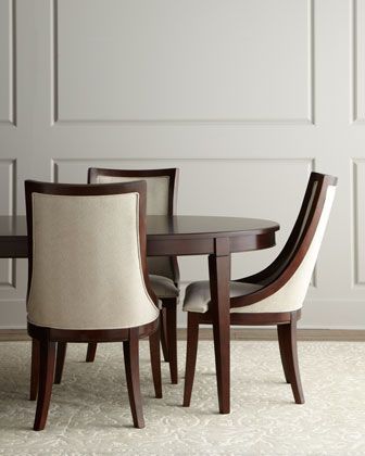 Allerton dining room furniture at horchow chairs only for Non traditional dining room chairs