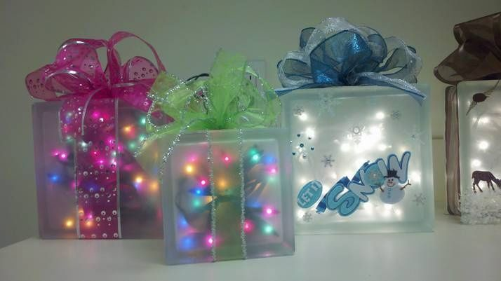 Glass Block Craft Ideas For Christmas Rainforest Islands Ferry