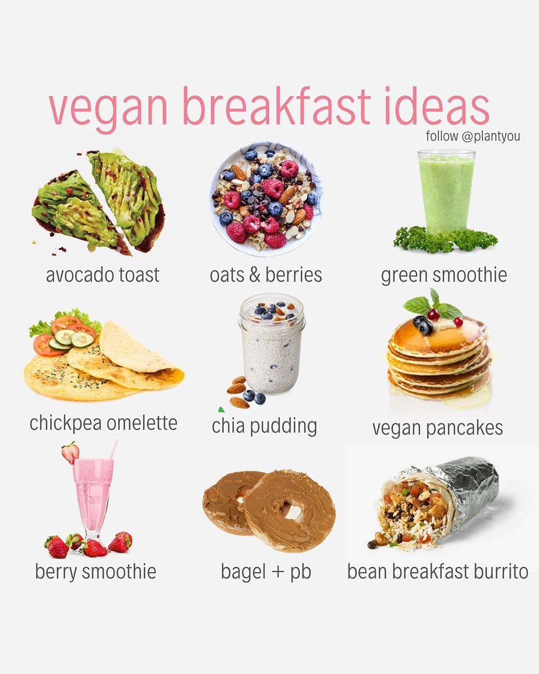 What S Your Go To Vegan Breakfast Mine Is Definitely A Big Hot Bowl Of Oatmeal If Quick Vegan Breakfast Vegan Recipes Plant Based Vegan Meal Plans