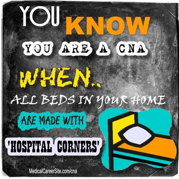 Good You Know Youu0027re A CNA When All Beds In Your Home Are Made With