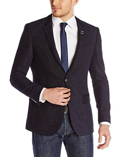 Bogosse Men's Franky Jacket 83, Navy Blue Jacquard, 4 Bogosse ++You can get best price to buy this with big discount just for you.++