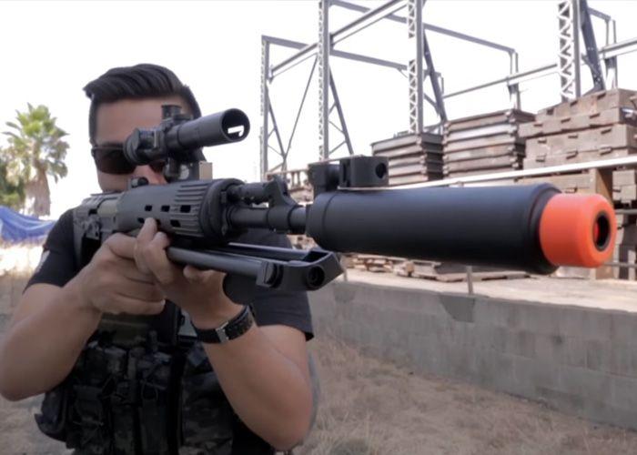 Evike [The Gun Corner]: ASP OTs-03 SVU AEG