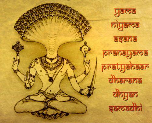 Patanjali and His Eightfold Path of Yoga (via dhyanfoundation.com)
