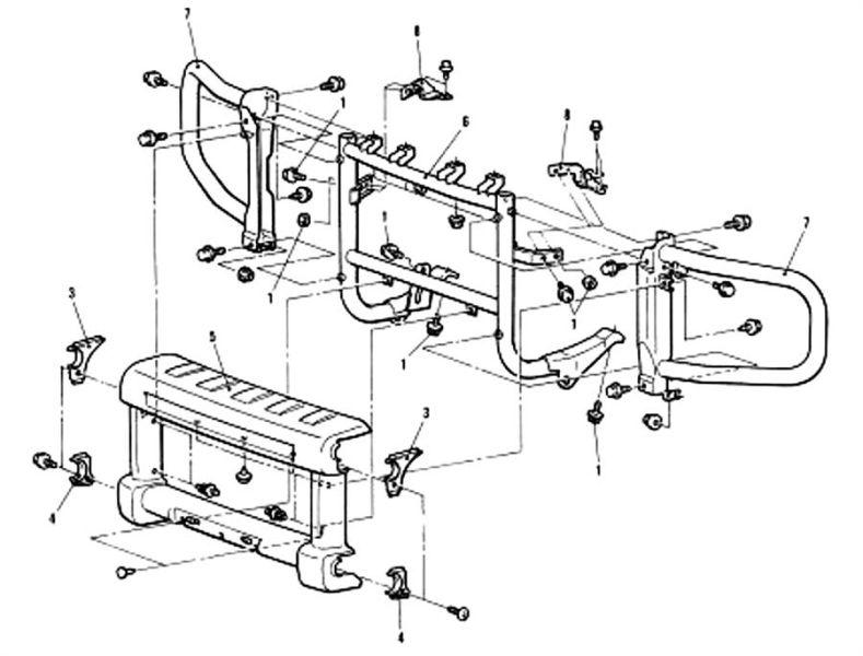 Mitsubishi Delica L400 Wiring Diagrams
