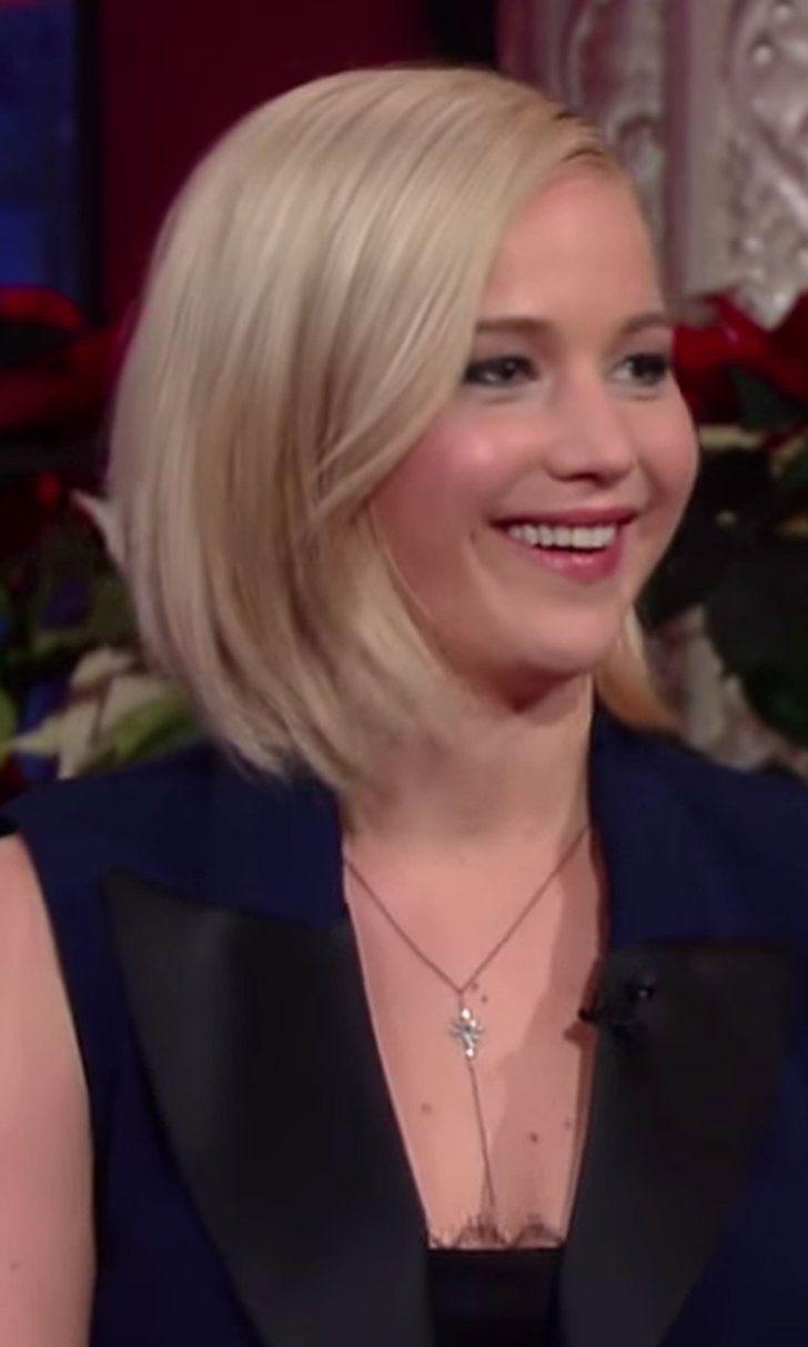 Jennifer Lawrence Talks Lindsay Lohan On Stephen Colbert All