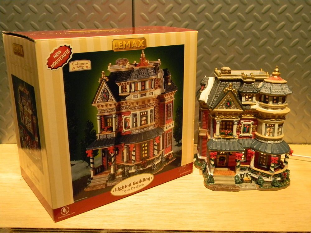 "Lemax #55205 ""Residence Taylor"" with Original Box"