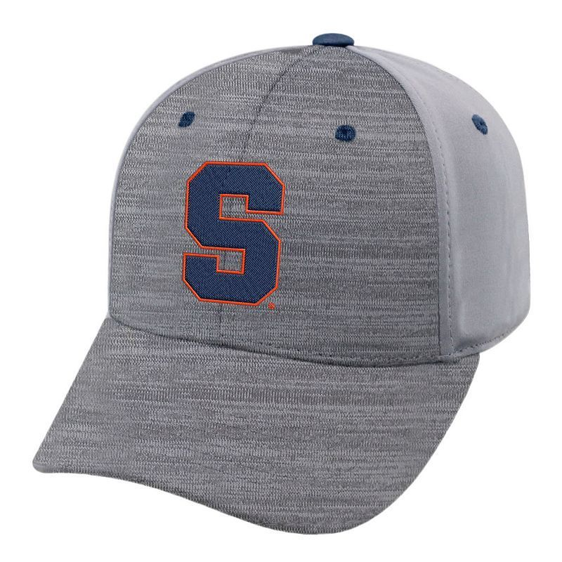 Adult Syracuse Orange Steam Performance Adjustable Cap, Med Grey