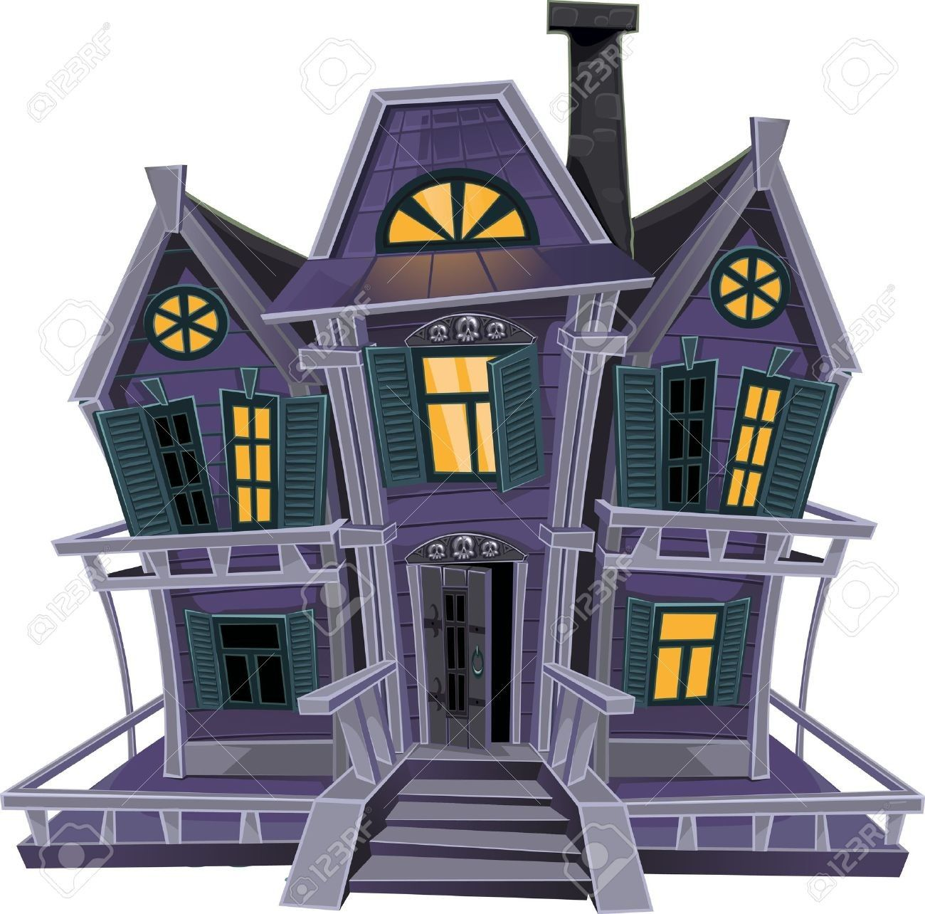 Haunted House (With images) Magic house, Haunted house