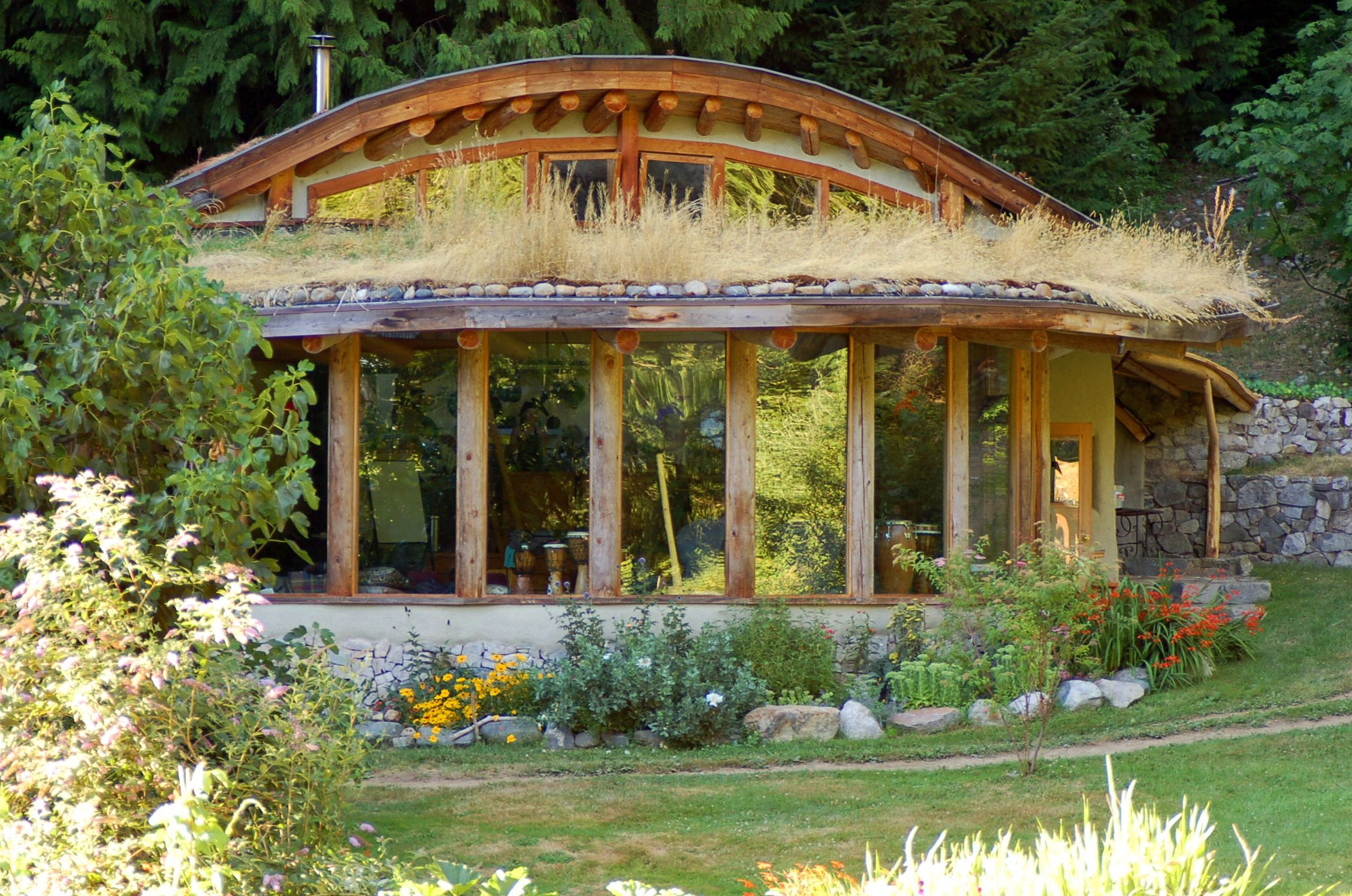 eco house that i love | House, Living roofs and Natural building