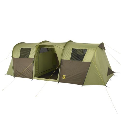 Slumberjack Overland 10 Person Cabin Tunnel Tent Green - Tents And Tarps Family Large Tents at Academy Sports | Tunnel tent Tents and C&ing  sc 1 st  Pinterest & Slumberjack Overland 10 Person Cabin Tunnel Tent Green - Tents And ...