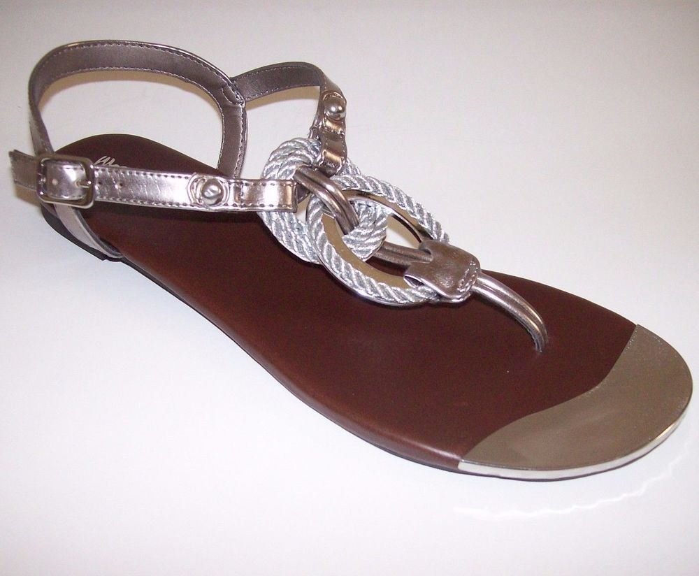 ae88a9a99 MOSSIMO GABRIELA SANDALS SHOES SIZE 10 Pewter Silver 096 05 0013 Target   Mossimo  sandals  Casual