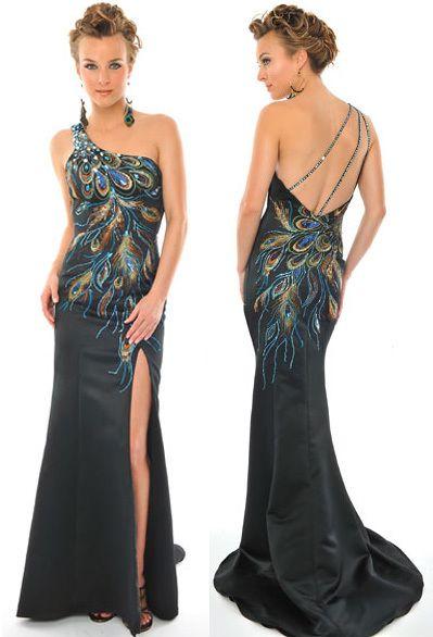 5c759e05b04d07 Peacock prom dress